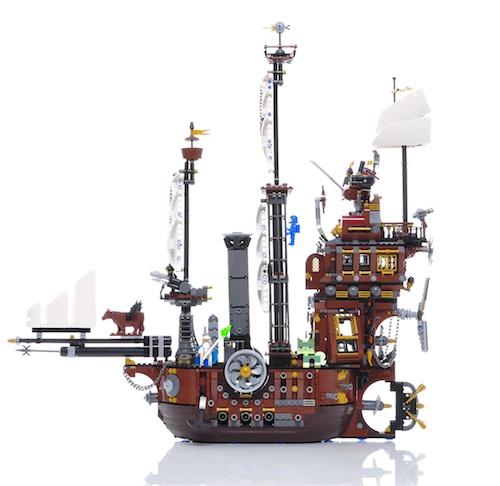lego movie das schiff in 360 grad ansicht experte f r. Black Bedroom Furniture Sets. Home Design Ideas