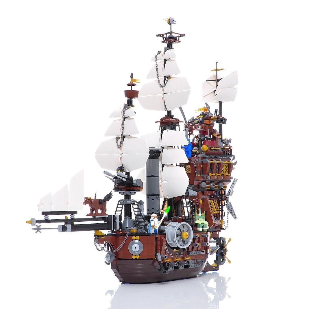 Lego Movie Schiff in 360 Grad