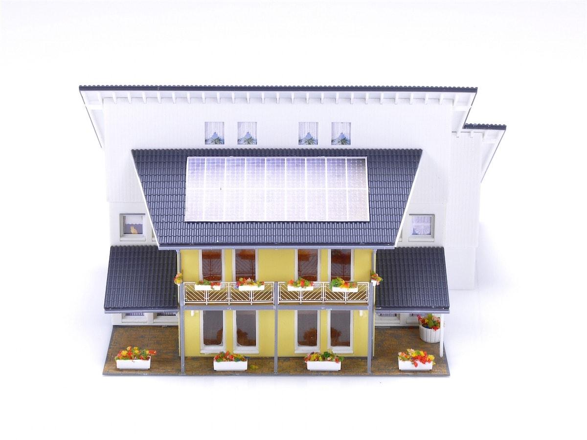 Miniaturhaus 360 Grad Ansicht