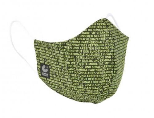 Schutzmaske 360 Grad Produktfoto